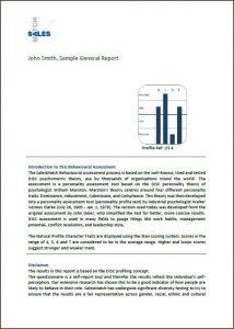 Psychometric Assessment Report